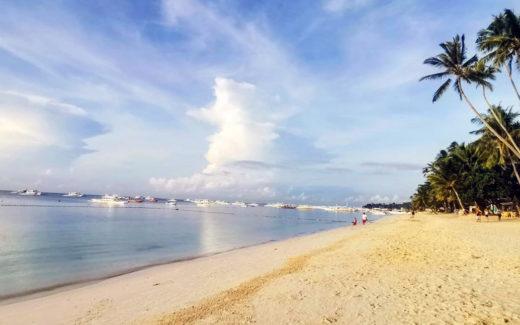 Пляж Алона Бич на острове Панглао, Филиппины
