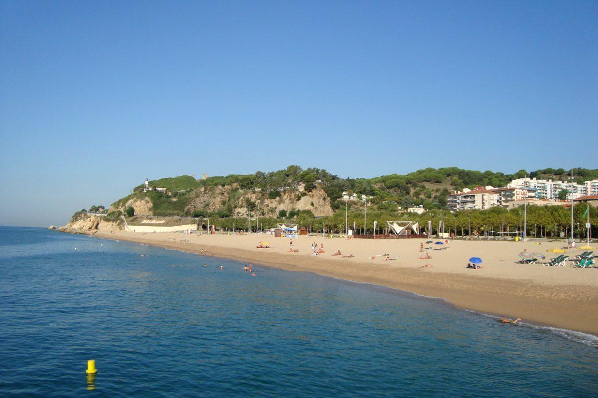 Центральный пляж в Калелье, Испания