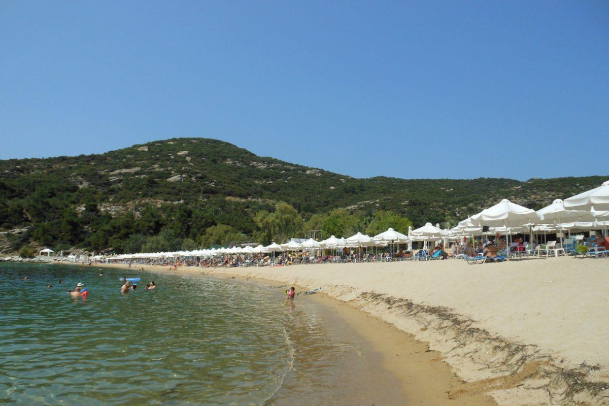 Пляж Каламитса, Кавала, Греция