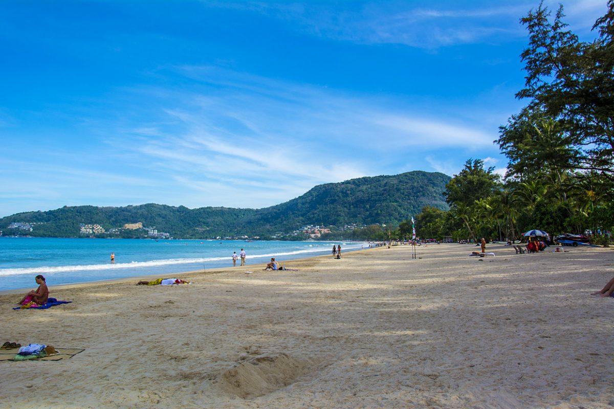 Пляж Патонг на Пхукете, Таиланд