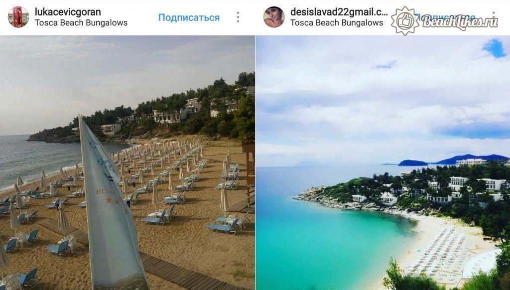 Пляж Тоска, Кавала, Греция