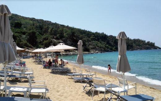 Пляж Батис, Кавала, Греция отзыв и фото