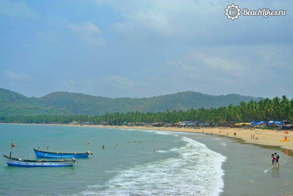Пляж Палолем в Гоа, Индия
