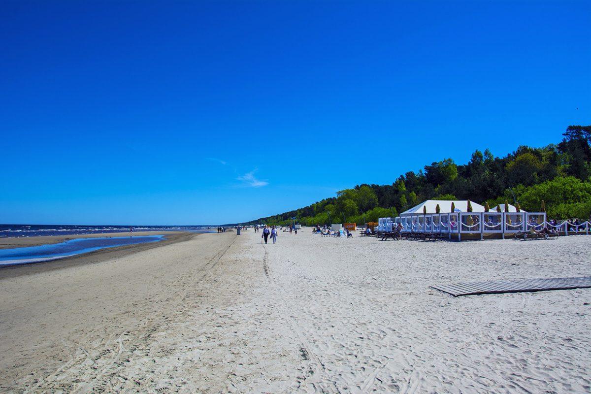 Пляж Юрмалы, Латвия