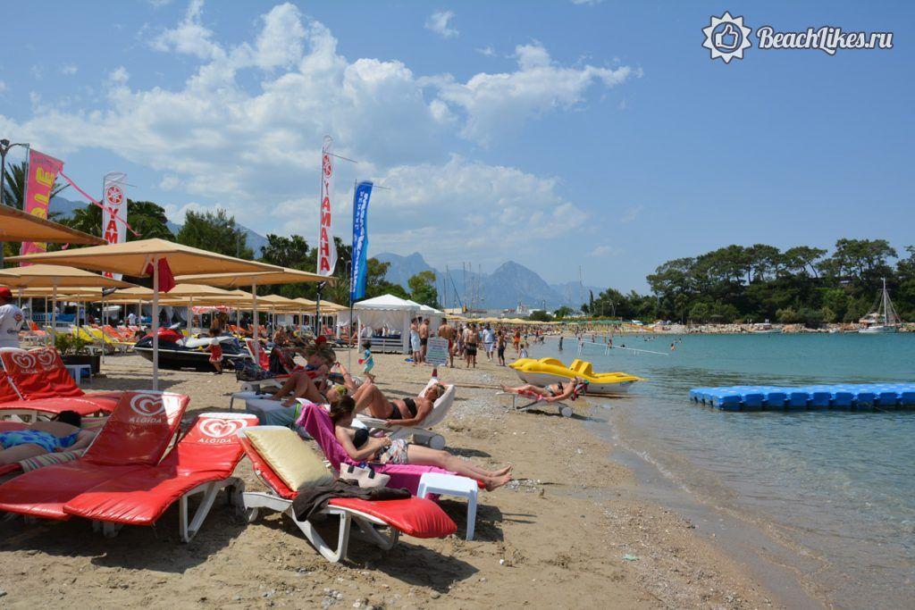 Калиста городской пляж Кемера, Турция