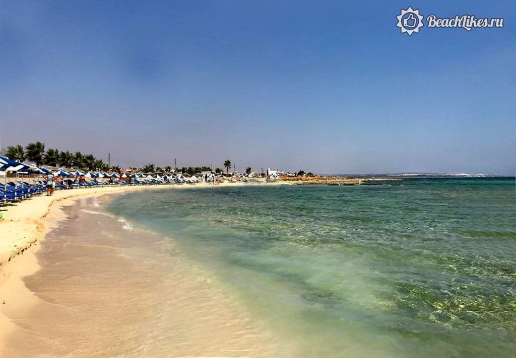 Пляж Айя-Текла, Айя-Напа, Кипр