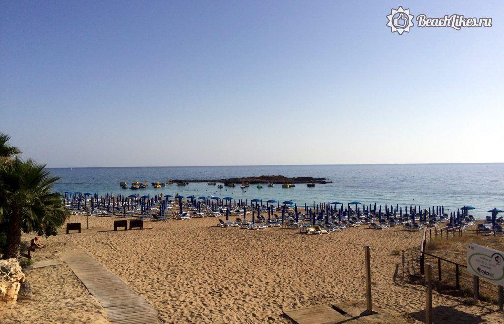 Пляж залива Фигового дерева, Протарас, Кипр