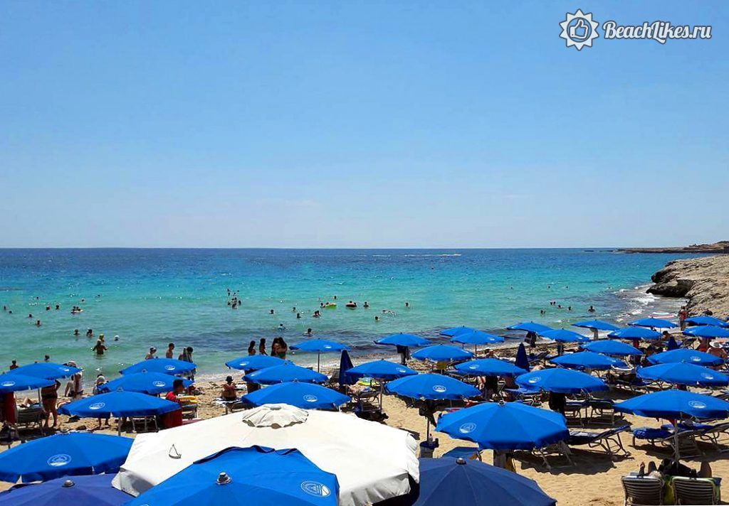 Пляж Глики Неро и пляжи бухты Гришн-Бэй, Айя-Напа, Кипр