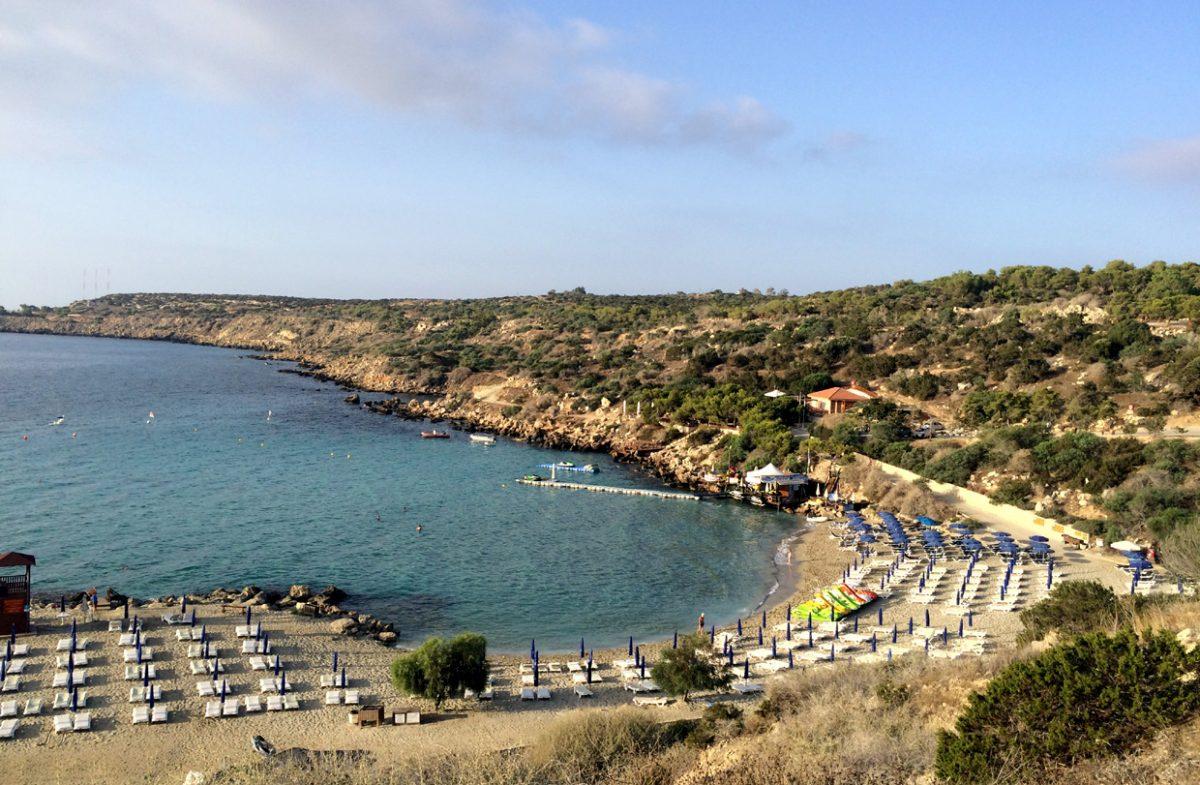 Пляж Коннос, Протарас, Кипр