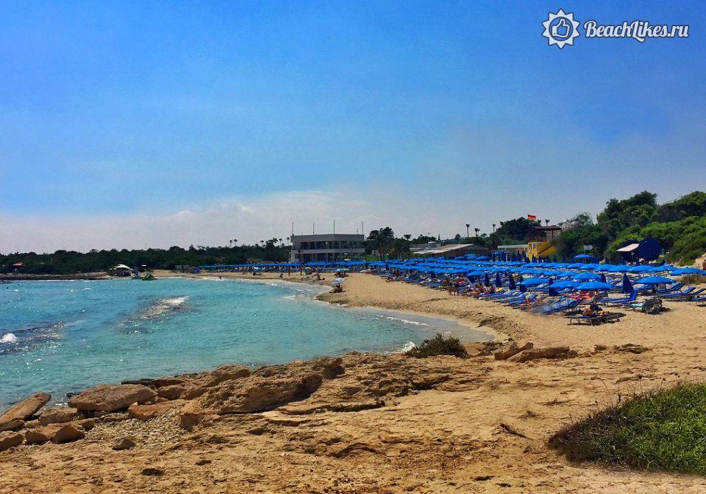 Пляж Ланда Бич, Айя-Напа, Кипре