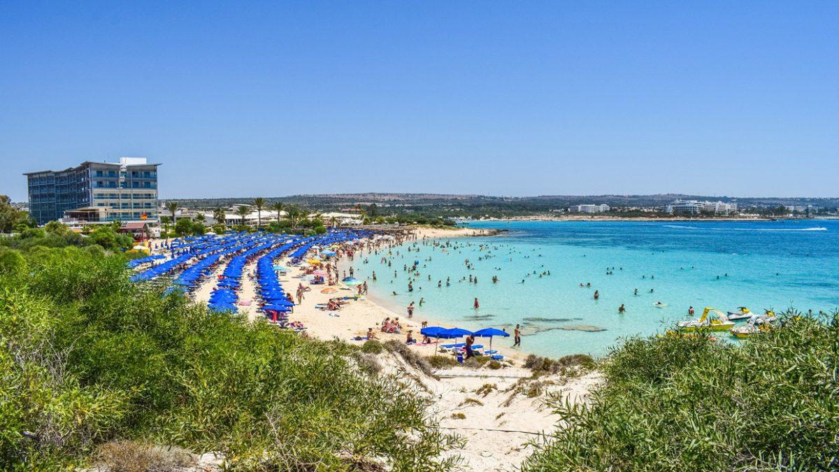 Пляж Макронисос, Айя-Напа, Кипр
