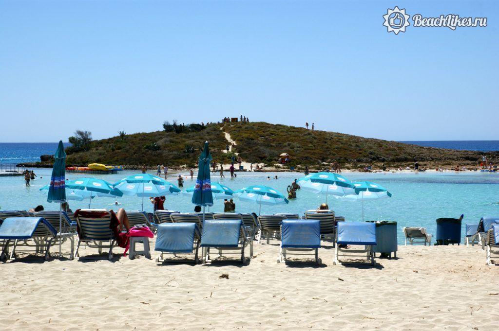 Пляж Нисси Бич, Айя-Напа, Кипр