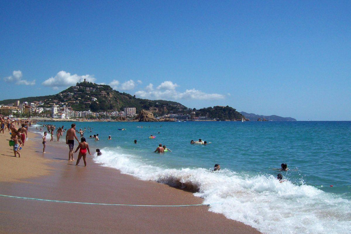 Главный пляж Ллорет де мар