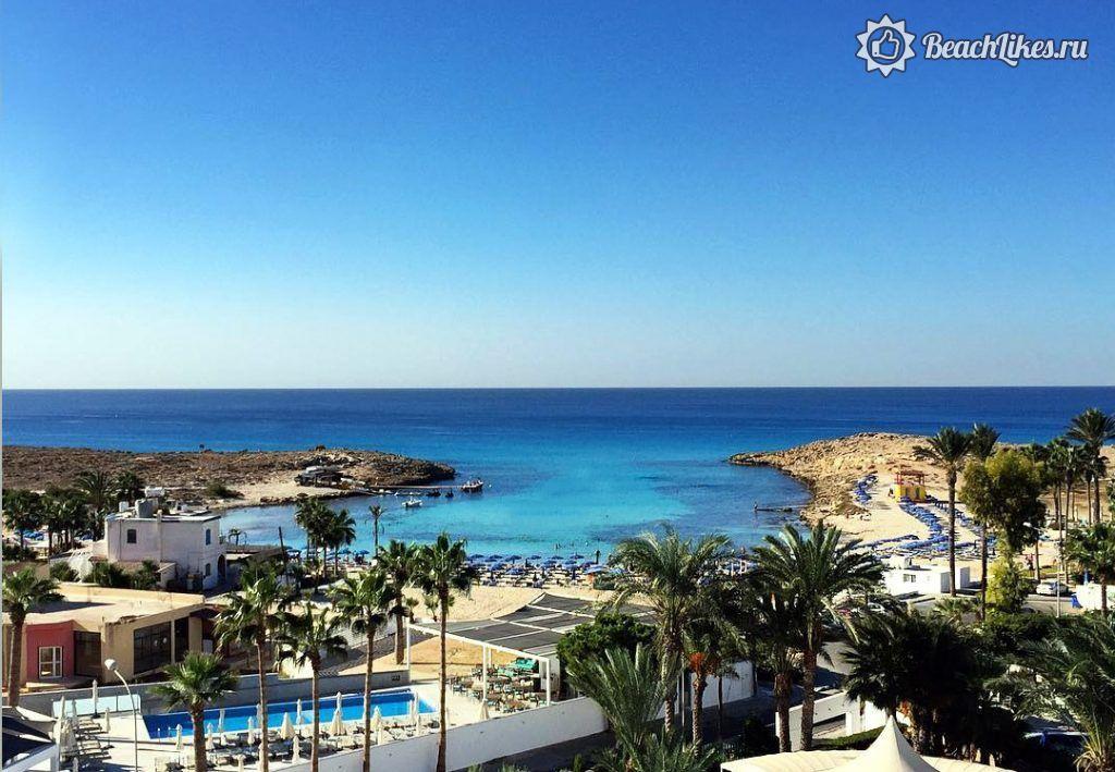 Пляж Сэнди-Бэй, Айя-Напа, Кипр