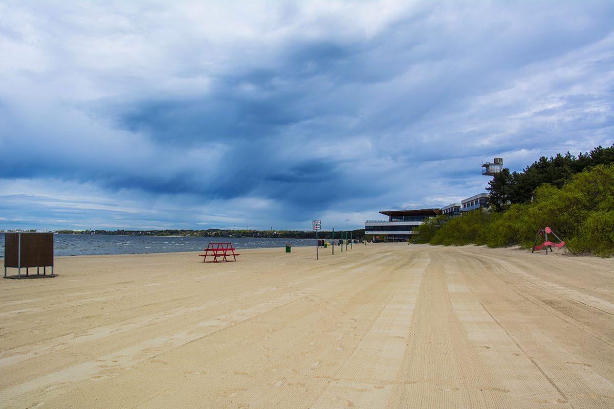 Пляж Пирита в Таллине
