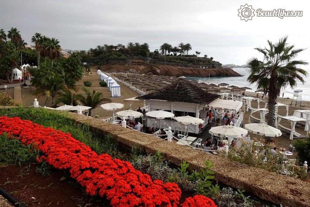 Пляж Эль Дюк Коста Адехе на Тенерифе