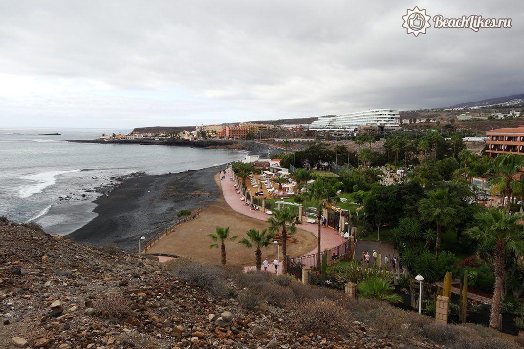 Пляж Ла-Энрамада на Коста Адехе на Тенерифе
