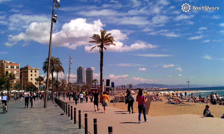 Пляжи Барселоны, цены, погода