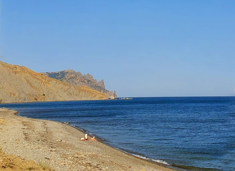 Лисья бухта дикий пляж в Крыму