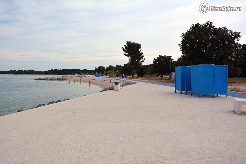 Отзыв про пляж Виле у Пулы