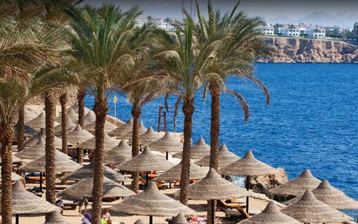 Пляж Гранд отеля Шарм-эль-Шейха – The Grand Hotel Sharm El Sheikh