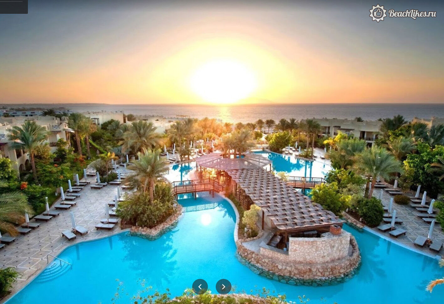 The Grand Hotel Sharm El Sheikh Шарм-эль-Шейх территория и бассейн
