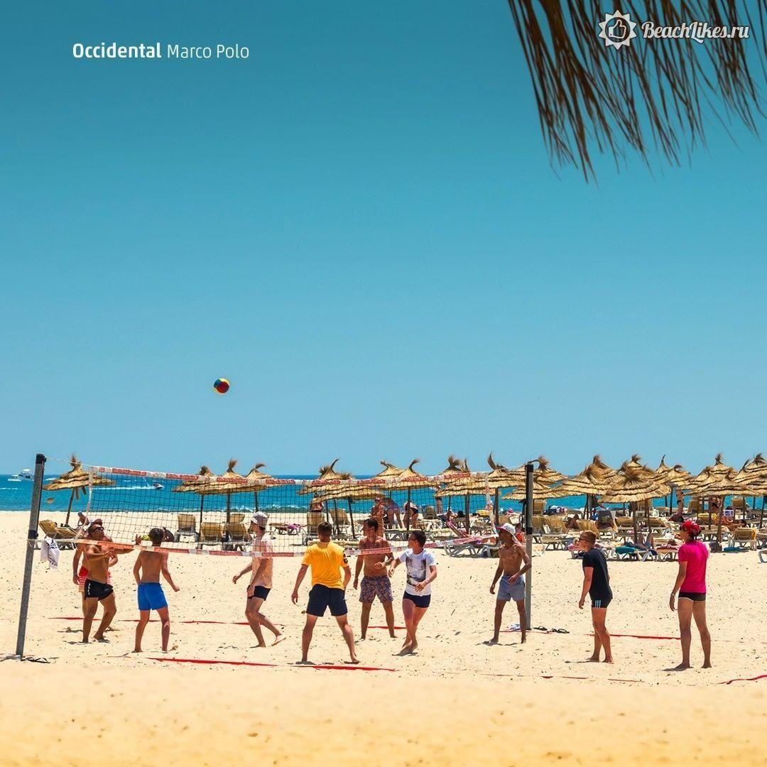 Отзыв пляжа Occidental Marco Polo Хаммамет Тунис